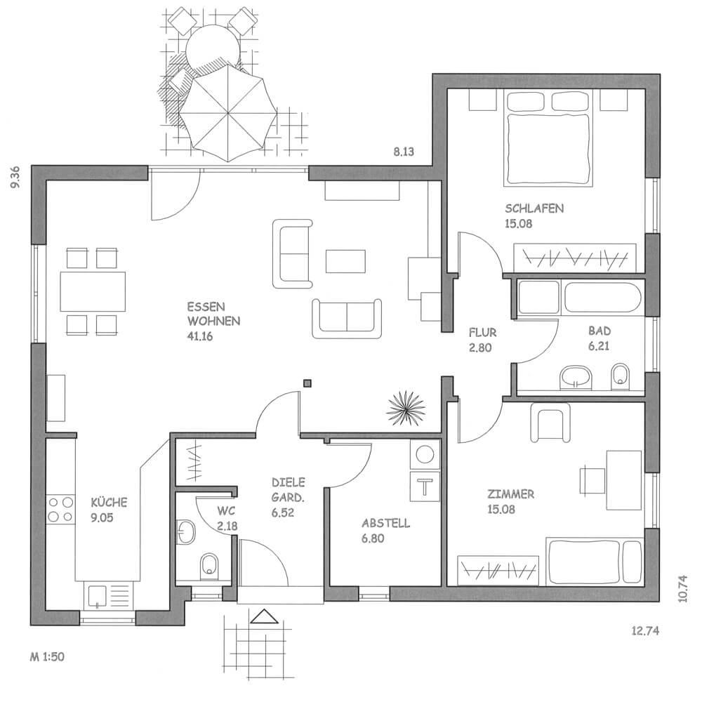 Trento Ohne Keller Nagel Haus